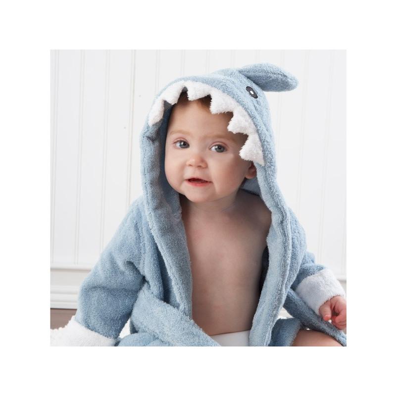 Sortie de bain pour bébé Requin