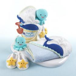 Ensemble de bain : Mer pour bébé de 0 à 9 mois