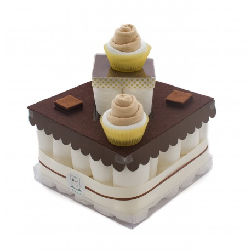 Gâteau De Couches Chocolat Baby Shower Et Cadeau Naissance Original