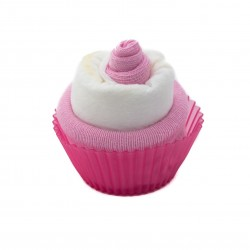 Cupcake de couche : Rose