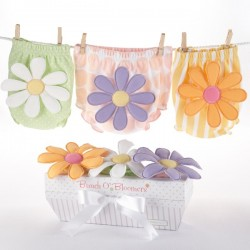 Culottes cache-couches ou Bloomers Fleurs baby shower